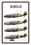 Me 109 - Blechschild