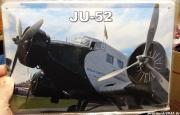 Ju 52 - Blechschild