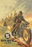 Wehrmacht Motorrad - Blechschild II