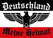 Deutschland - Meine Heimat II - Aufkleber
