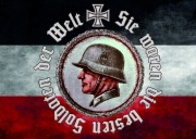 Sie waren die besten Soldaten der Welt II - Aufkleber