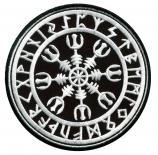 Aegishjalmur Nordischer Kompass - Aufnäher