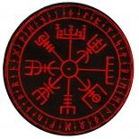 Aegishjalmur Nordischer Kompass II - Aufnäher