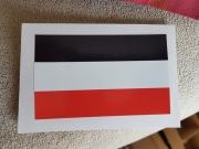 Deutsches Reich schwarz/weiss/rot - wasserfester Aufkleber