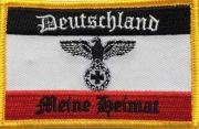 Deutschland Meine Heimat - Aufnäher