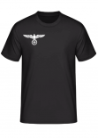Chest Eagle Iron Cross Wehrmacht - T-Shirt