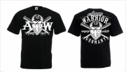 German Warrior - T-Shirt schwarz