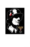 Der Wehrmacht Soldat - Poster 80x60 cm