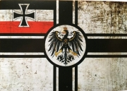 Reichskriegsflagge II - Aufkleber