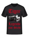 Tiger Legende aus Stahl - T-Shirt