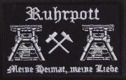 Ruhrpott - Meine Heimat, meine Liebe - Aufnäher