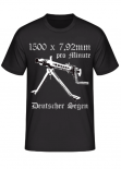 MG 42 1500 x 7,92mm pro Minute Deutscher Segen - T-Shirt