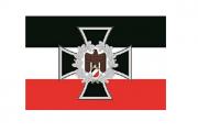 Deutsches Reich Eisernes Kreuz mit Reichsadler - 10 wasserfeste Aufkleber