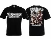 Deutscher Schäferhund - Hundestaffel der Wehrmacht - T-Shirt schwarz