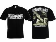 Wehrmacht Atlantikwall - T-Shirt schwarz