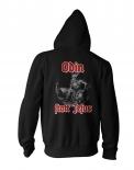 Odin statt Jesus - Kapuzenjacke schwarz