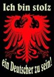 Ich bin Stolz ein Deutscher zu sein - 50 Aufkleber