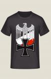 Reichsadler Eisernes Kreuz Wehrmacht Emblem - T-Shirt