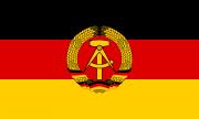 DDR Flagge 1959–1990 - Fahne 45x30cm