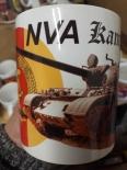 NVA Kampfpanzer T-55 - 4 Tassen