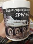 NVA - SPW 60 Schützenpanzerwagen - 4 Tassen