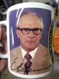 Erich Honecker - 4 Tassen