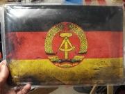 DDR - Blechschild