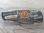 Deutscher durch Geburt - Ossi durch die Gnade Gottes - Taschenmesser