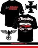 Sachsen Division - Kampfgruppe Sachsen - T-Shirt schwarz
