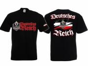 Deutsches Reich III - T-Shirt schwarz