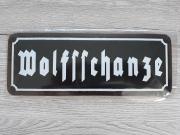 Wolfsschanze - Blechschild
