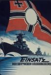 Deutsche Kriegsmarine - Blechschild