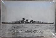 Schlachtschiff Tirpitz - Blechschild