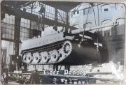 Tiger Panzer - Blechschild III