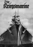 Schlachtschiff der Kriegsmarine - Blechschild