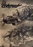 Deutscher Bomber der Luftwaffe - Blechschild