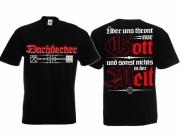 Dachdecker - Wir halten Deutschland dicht - T-Shirt schwarz