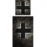 Wehrmacht Balkenkreuz - Bettwäsche