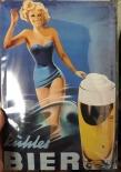 Bier VI - Blechschild