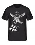 Luftwaffe Adler im Angriff - T-Shirt