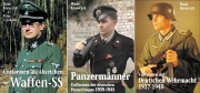 Uniformen der Waffen-SS/Uniformen der Panzertruppe/Uniformen der Wehrmacht - Trilogie - 3 Bücher