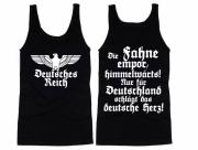 Deutsches Reich - Die Fahne empor - Muskel-Shirt schwarz