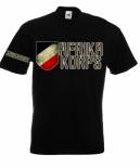 Rommels deutsches Afrika Korps - T-Shirt schwarz