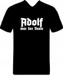 Der beste Adolf - T-Shirt schwarz