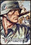 Wehrmacht Infanterie - Blechschild