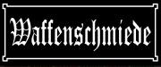 Waffenschmiede II - Blechschild