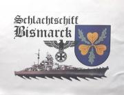 Schlachtschiff Bismarck V - Kissen