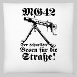 MG 42 - Der schnellste Besen für die Straße! - Kissen