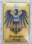 Deutsches Reich III - Blechschild