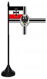Reichskriegsflagge Fahne - Tischfahne